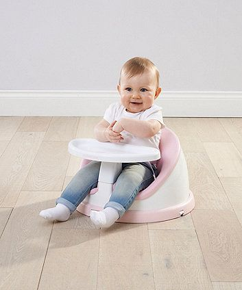 Mothercare 2 In 1 Rotating Floor Seat Pink Floor Seating High Chair Booster Seat
