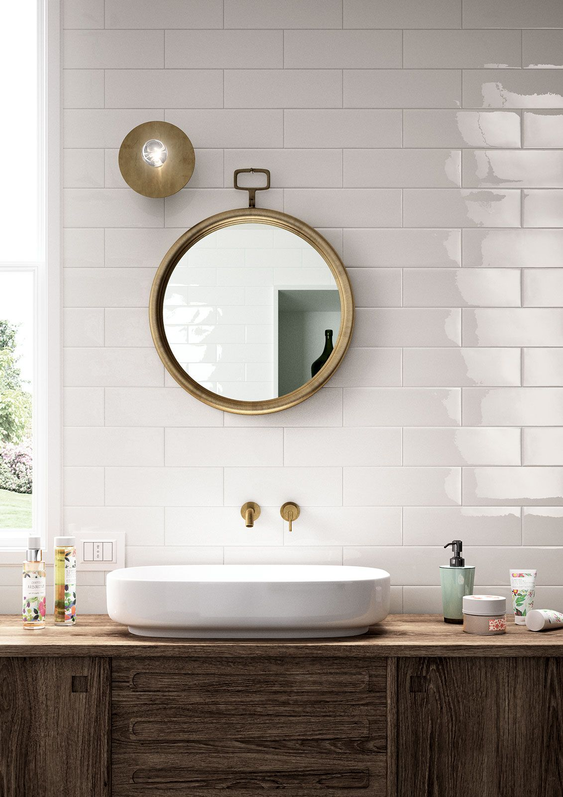 Azulejos cuarto de baño: cerámica y porcelánico | Marazzi ...