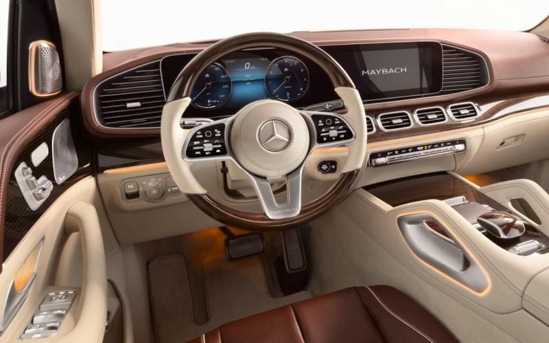 Mercedes Maybach Gls 600 4matic 2020 With Images Mercedes Maybach