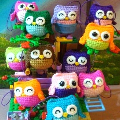 Little Owls Pattern Crochet Amigurumi And Toys Pinterest Owl