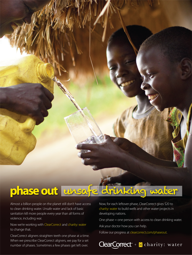 Phase Out Poster 2 Charity Water Clean Water Charity Clean Water