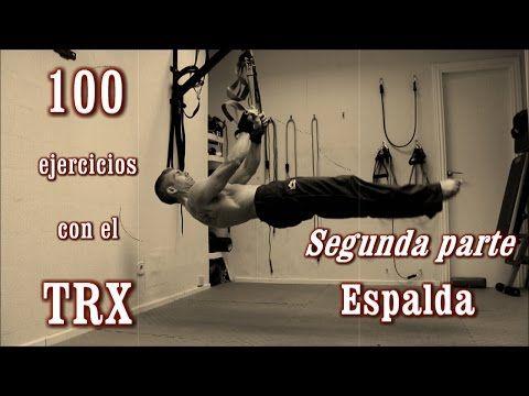 ejercicios para espalda con trx