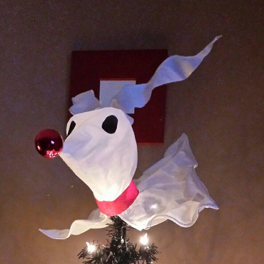 Tree Topper Zero Nightmare Before Christmas Nightmare Before