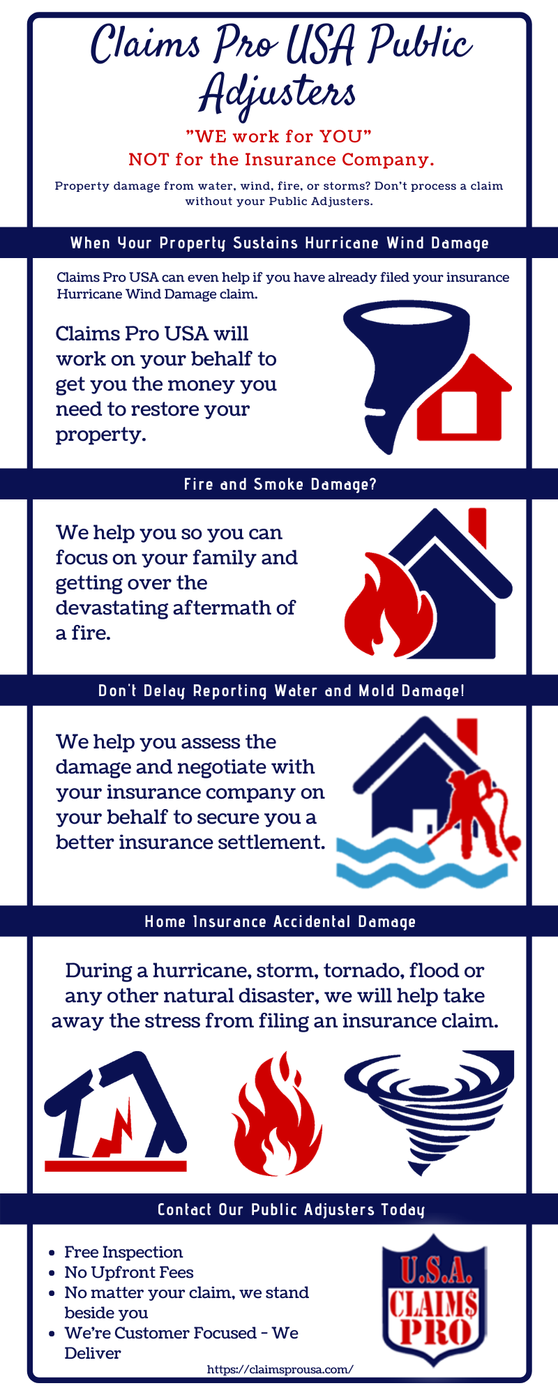 Are you looking for a public adjuster in Florida? Let the