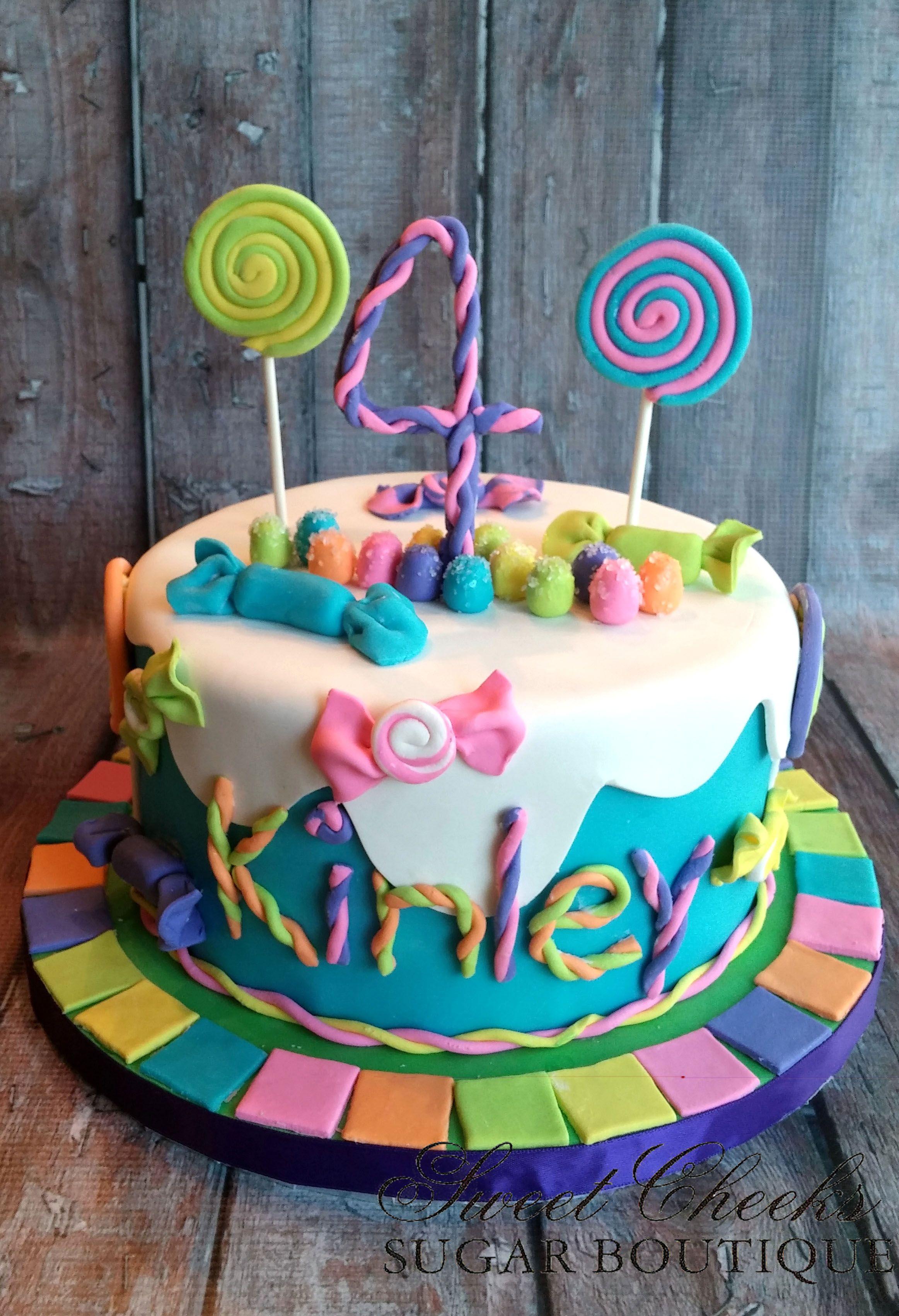 Joyous Cake Company: Jungle theme cake with sugar hand