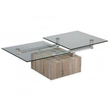 Table Basse Verre Cube Table Basse Verre Table Basse Table Basse Noire Et Blanche
