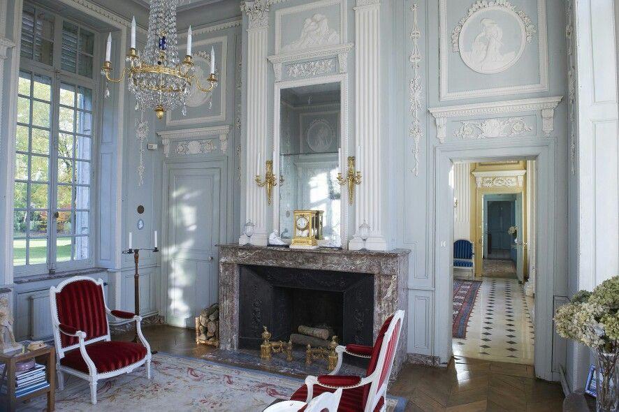 Attractive Château De Barly, Près Du0027Arras, Construit Sous Louis XVI Dans Les Années