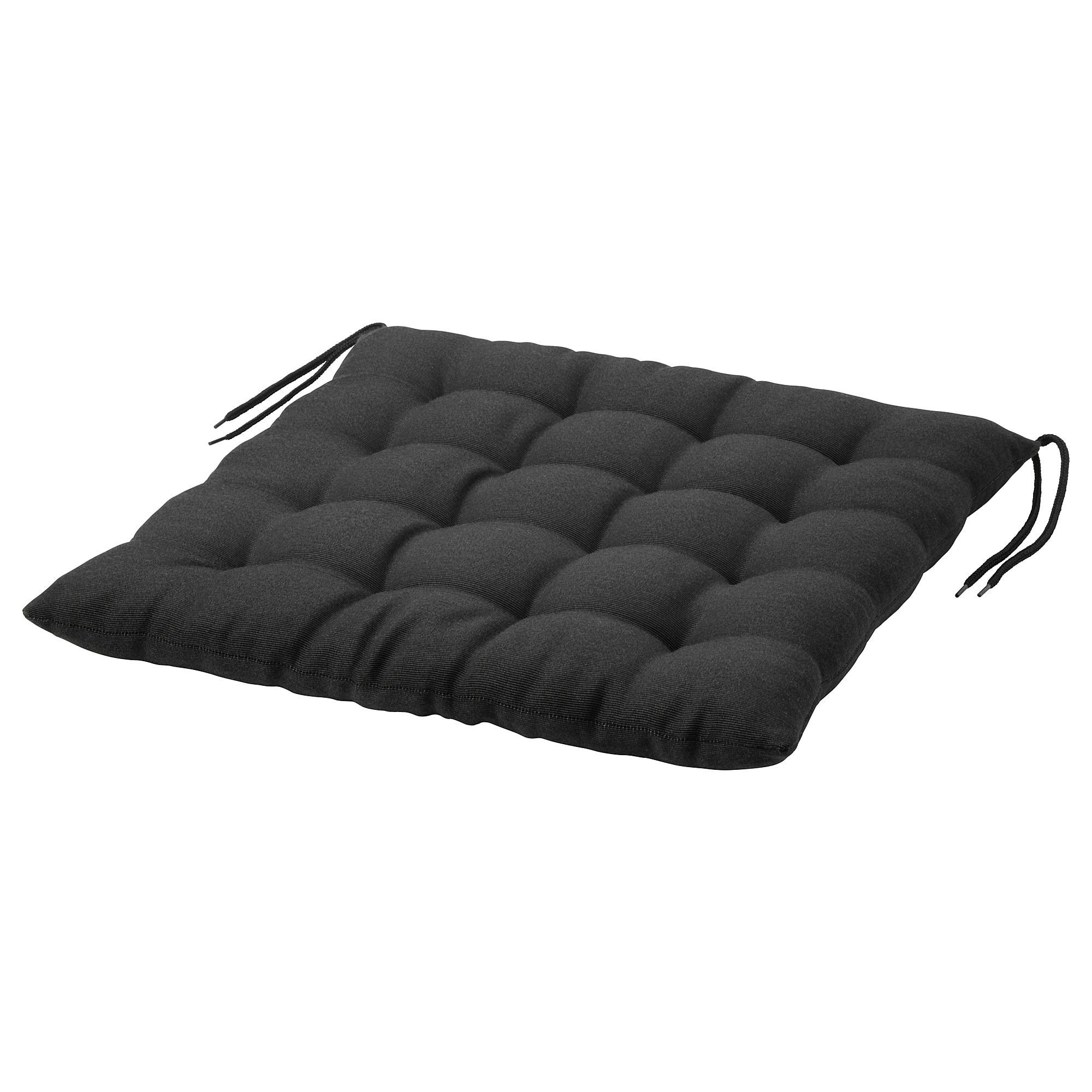 Hallo Chair Pad Outdoor Black Official Website Ikea Chair Pads Chair Ikea