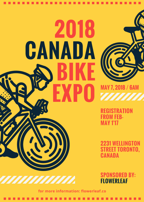 Bike Themed Event Flyer (2)  -  #Bike #cyclingeventflyer #Event #Flyer #Themed