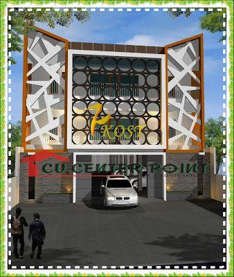 jasa desain rumah di kotamobagu - fasade rumah kos