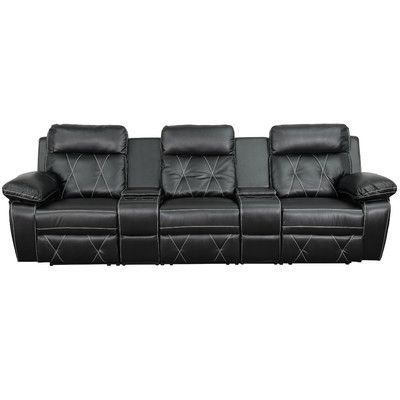 Flash Furniture Real Comfort Series Home Theater Recliner Upholstery B