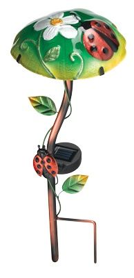 Ladybug Solar Light   Glow In The Dark