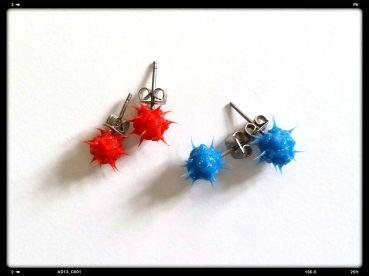 Set trendige Ohrringe