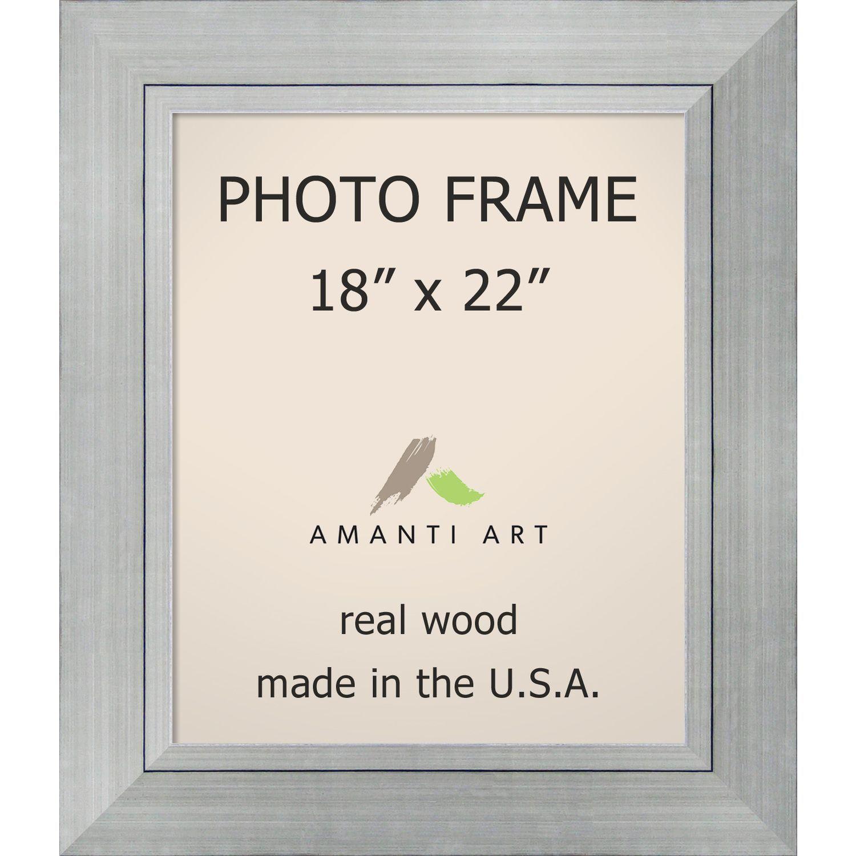 Romano Silver Photo Frame 25 x 29-inch (Silver Photo Frame 18x22 ...