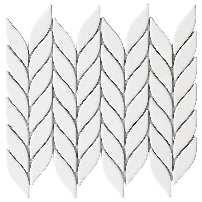 emser tile white tile backsplash