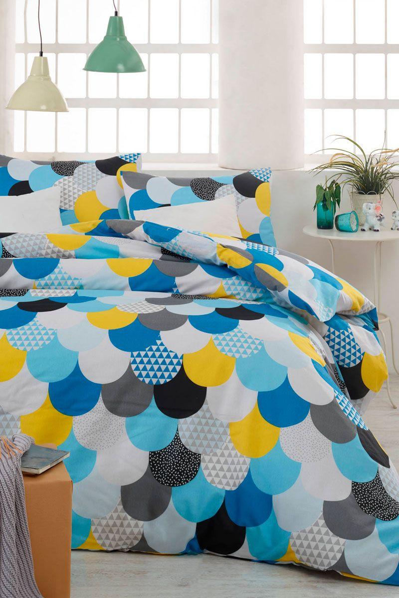 interesting vente dreamnights linge de lit motifs gomtriques parure de couette damla with vente. Black Bedroom Furniture Sets. Home Design Ideas
