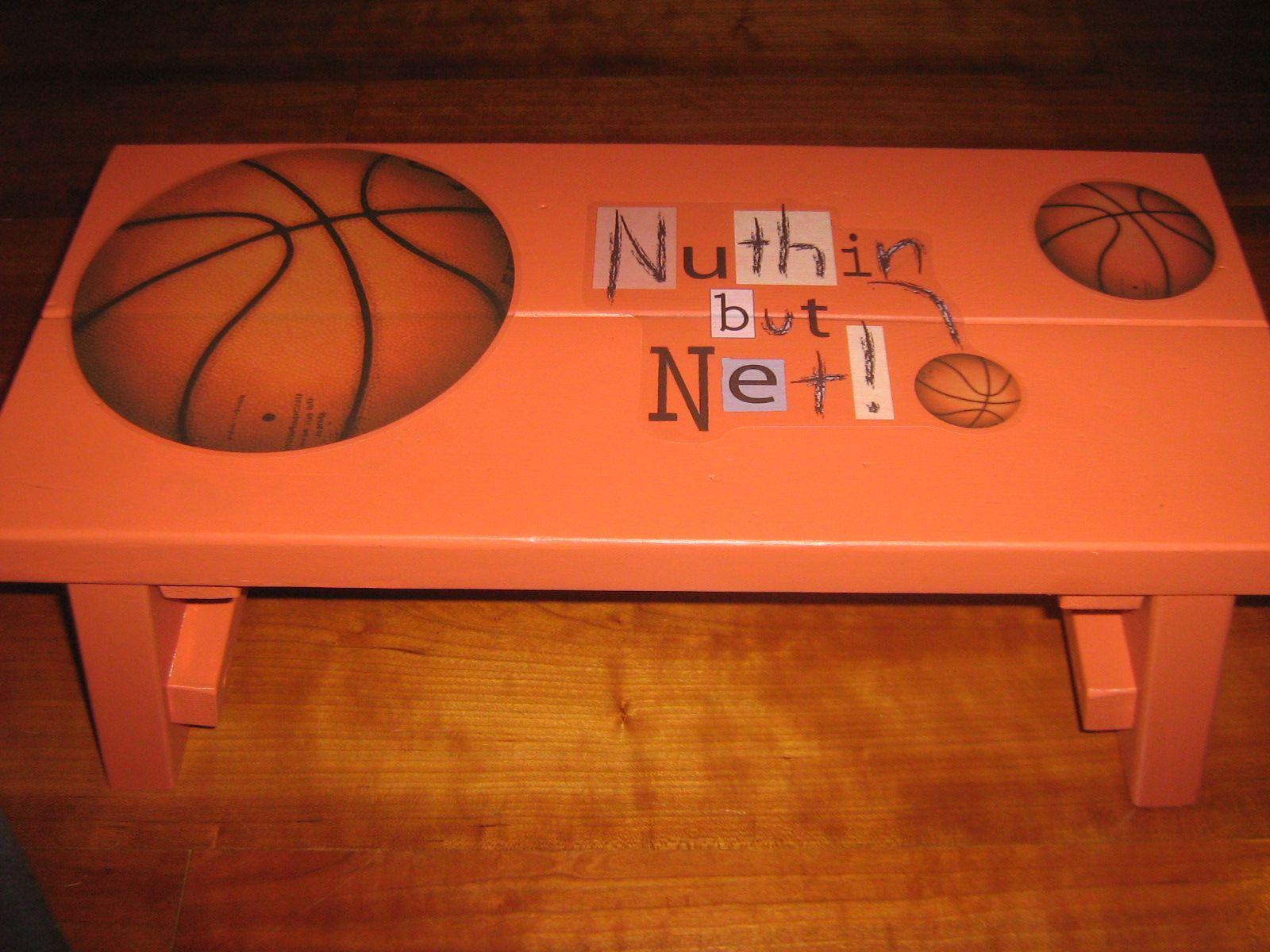 Awesome Basket Ball Themed Kids Stool