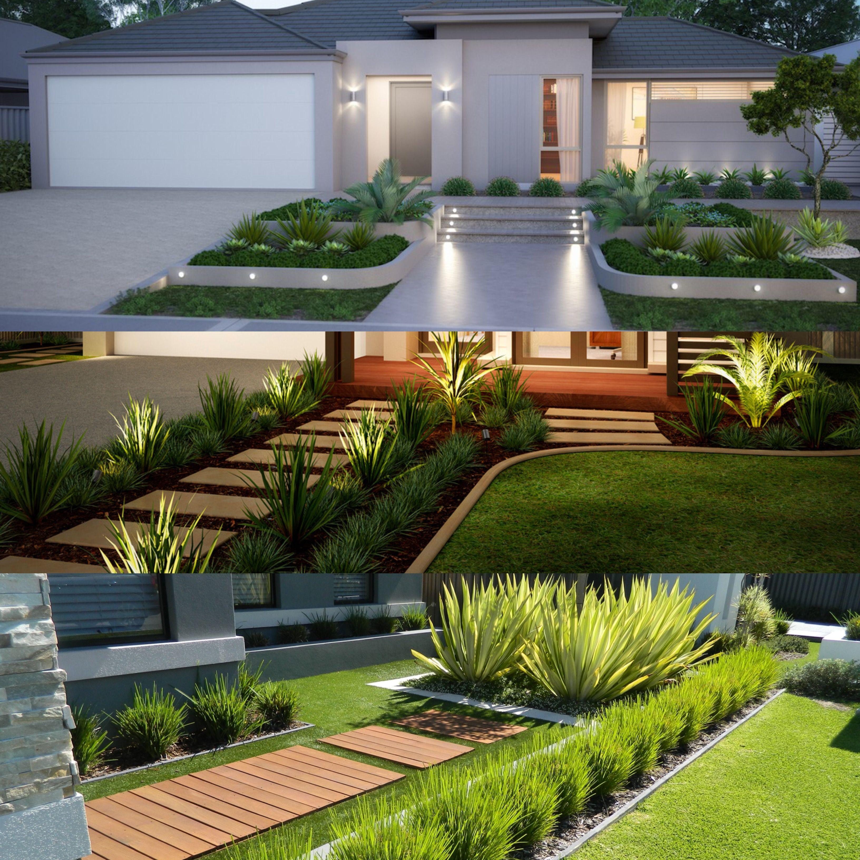 Pin By Choopex Dez On My Home Front House Landscaping Backyard Landscaping Designs Outdoor Gardens Design Modern front yard landscaping ideas australia