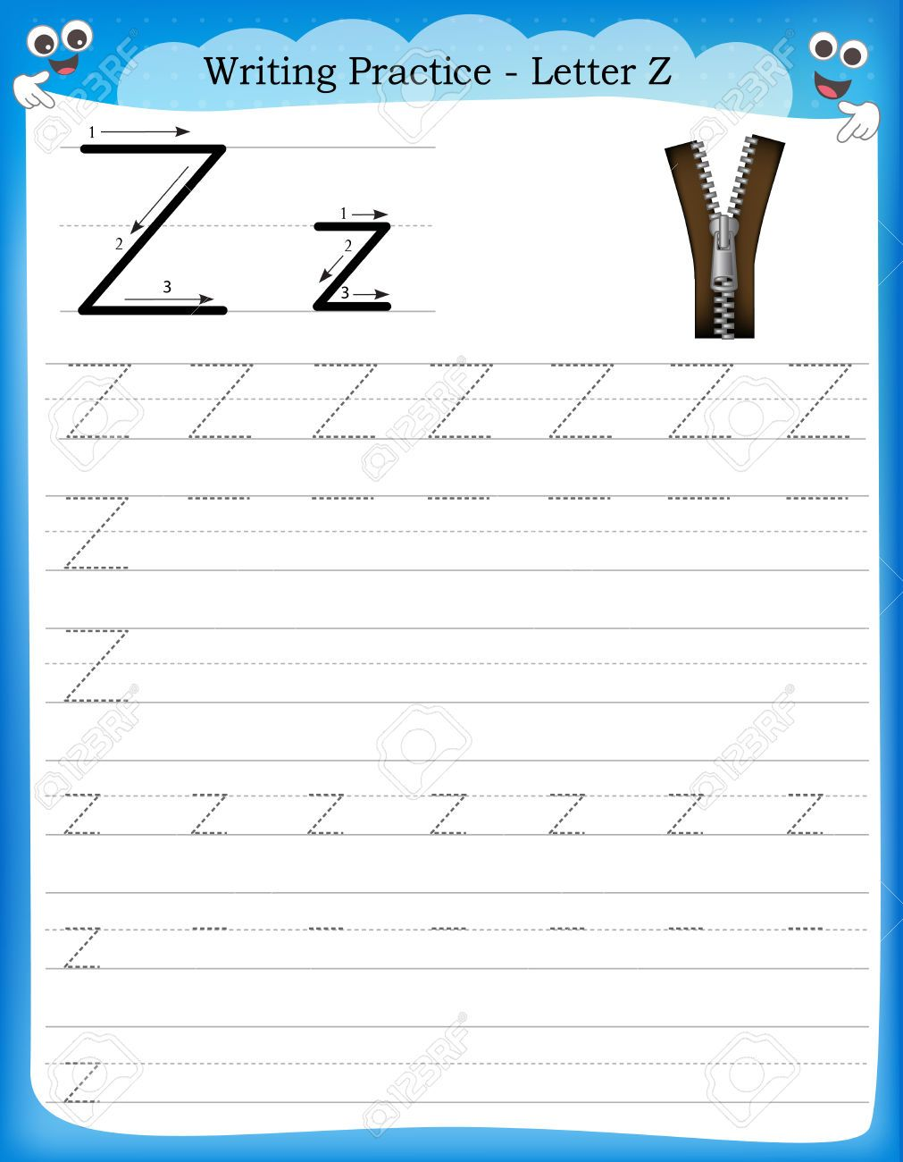 werkblad letter z - Google zoeken | letters | Pinterest