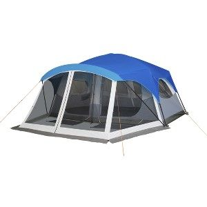 Embark 9 Person Cabin Tent With Screen Porch - 1 ...