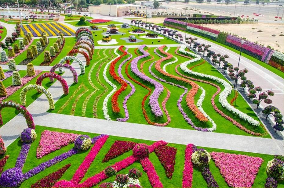 Beautiful Backyard Flower Gardens Dubai Miracle Garden World