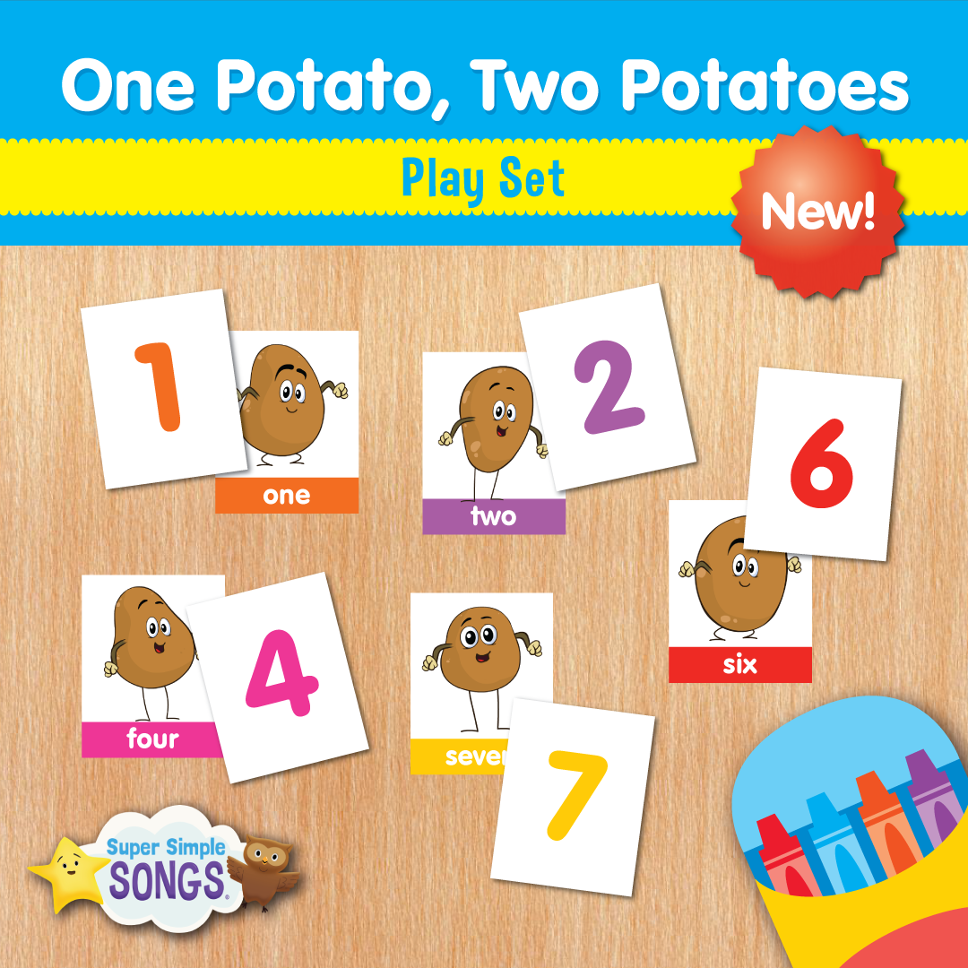 Practice Counting With The One Potato Two Potatoes Play