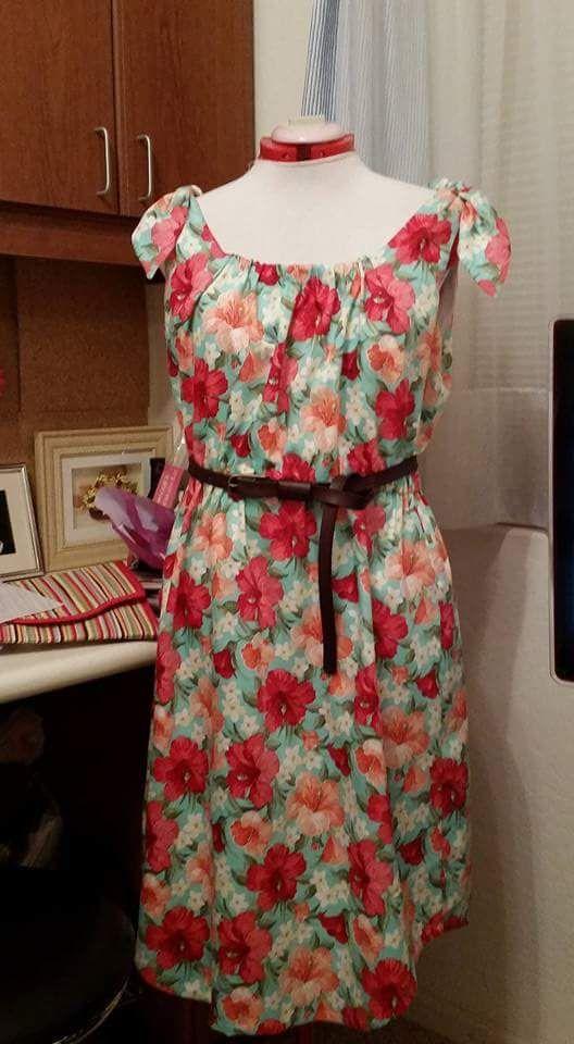 Sun Dress - So Long Summer Butterick B6205
