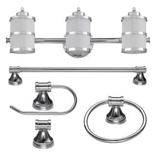 Bathroom Vanity Lights, 3 Lights, Under $100 at Overstock ...