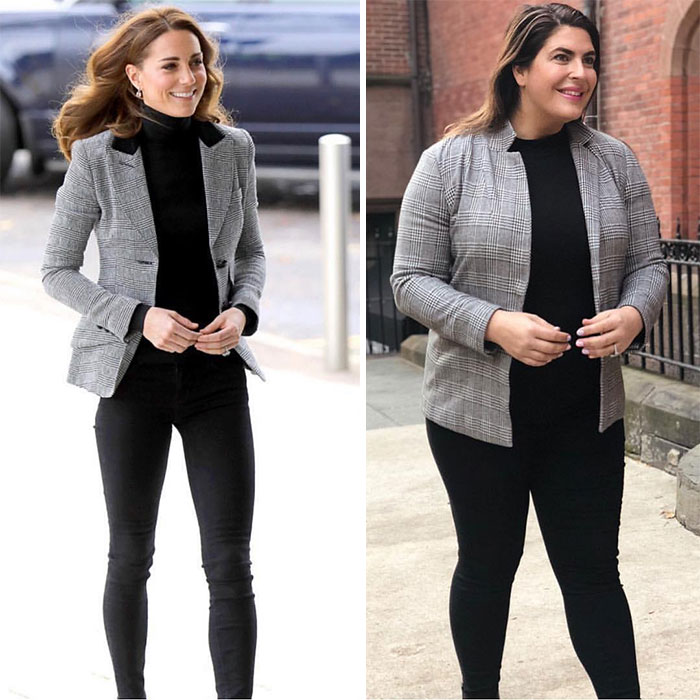 Woman Shows Herself Dressing Like Celebrities To S