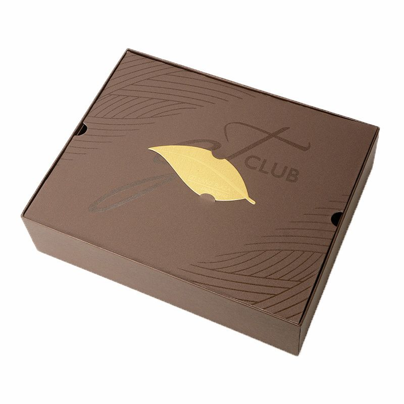 Fancy custom food packing box with lid size lengthwidth