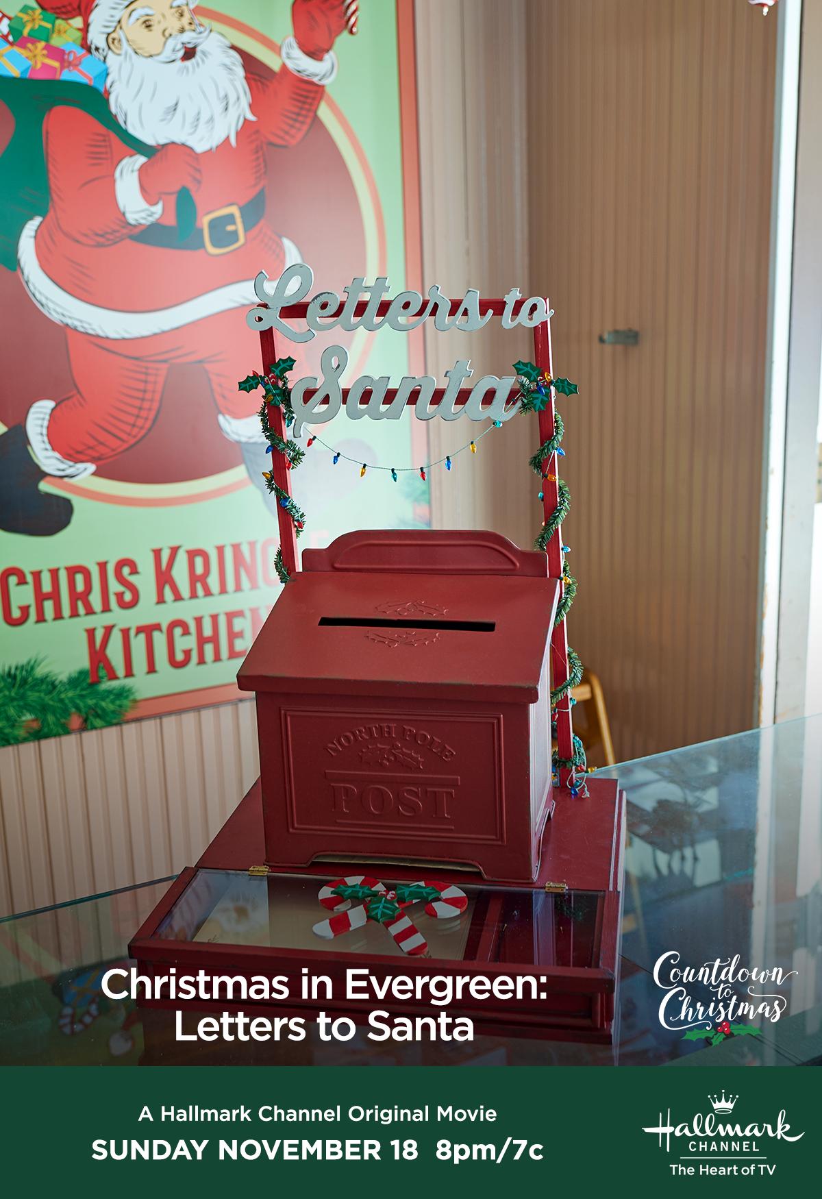 Hallmark Christmas in Evergreen Letters to Santa (2018