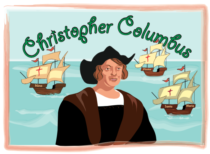 christopher columbus and his caravels clip art for classroom rh pinterest com christopher columbus clipart christopher columbus clipart images