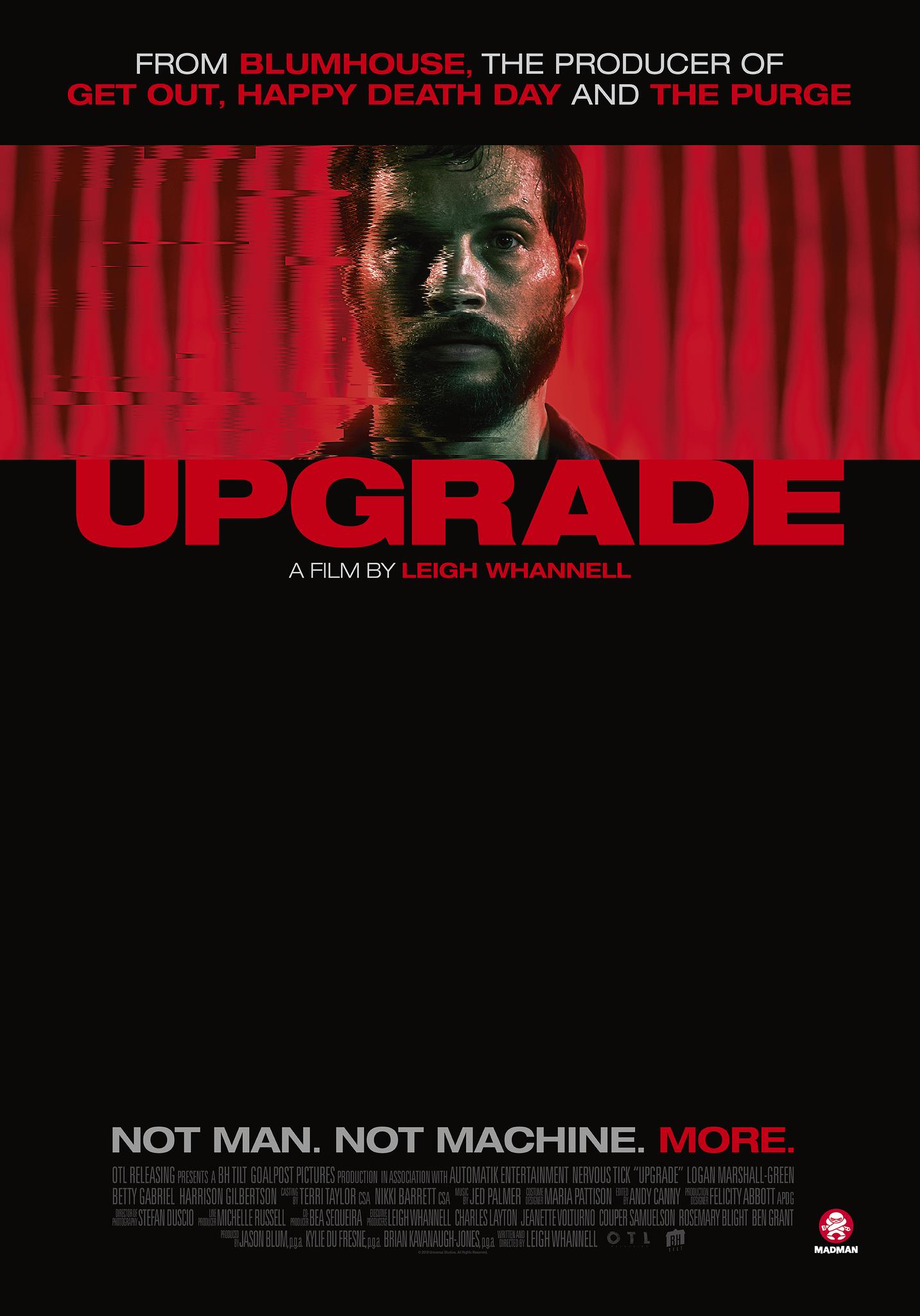 Upgrade 2018 Movies 2019 Movie Posters Sci Fi Movies Ve Movies