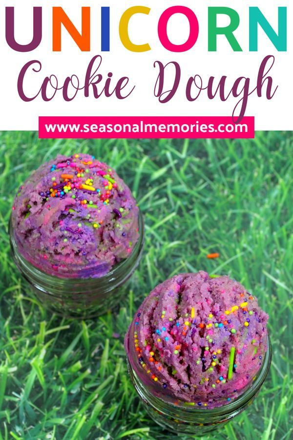 Unicorn Cookie Dough - Seasonal Memories