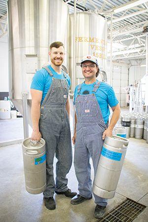 Kelsey Schumacher and Glenn Hall, Renaissance Brewing Co.