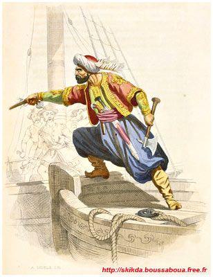 Skikda, Stora, Algérie - Site de Kamel Boussaboua - Corsaires barbaresques  (p.4, les raïs d'Alger) | Janissaire, Art historique, Alger