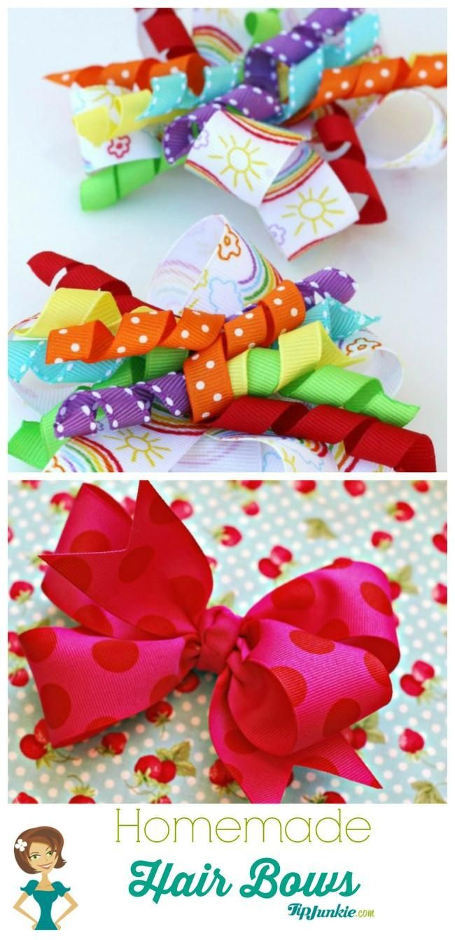 26 Easy How To Make Hair Bows Step By Step Homemade Hair Bows