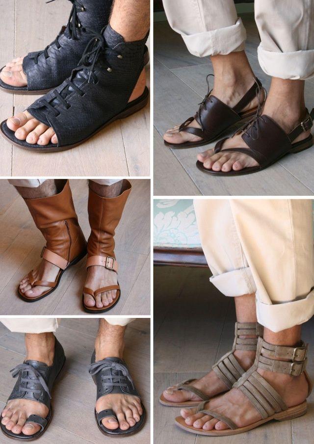 8c014e7a642a how to make men gladiator sandals diy - Sök på Google
