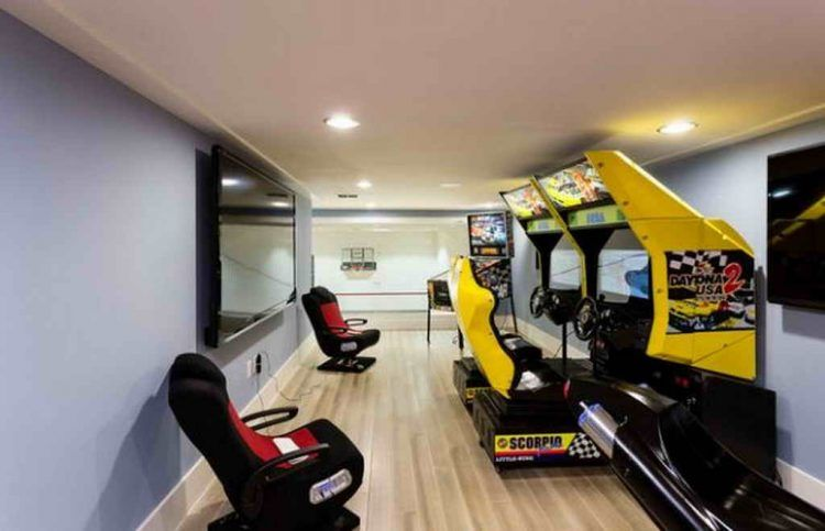 20 Of The Coolest Home Game Room Ideas Game Room Basement Arcade Room Game Room Design