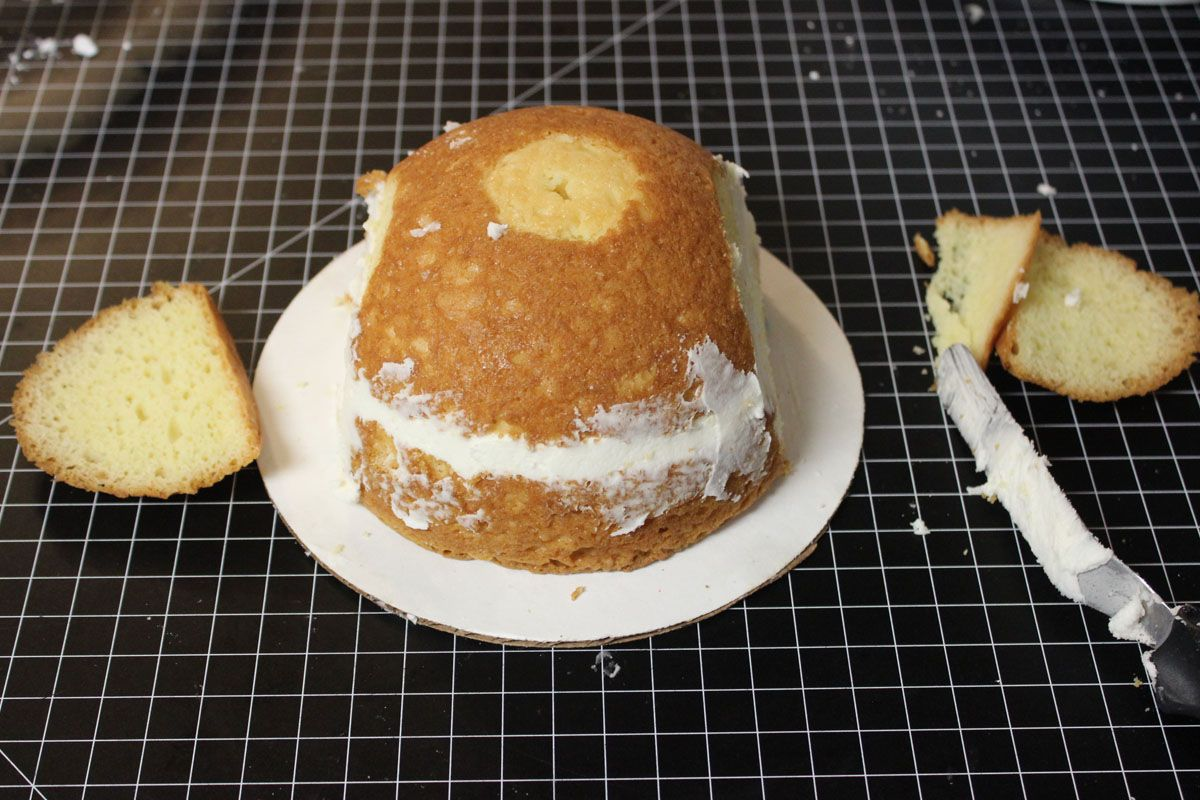 How To Make A Cowboy Hat Cake Part 1 With Images