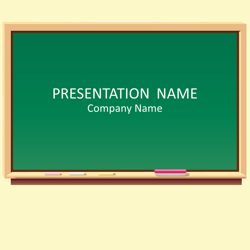 blackboard powerpoint template general powerpoint templates