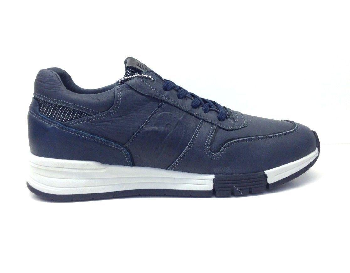 meet 5844d 9416f IMPRONTE scarpe uomo sneaker RIO MAN IM162012 pelle testa di ...