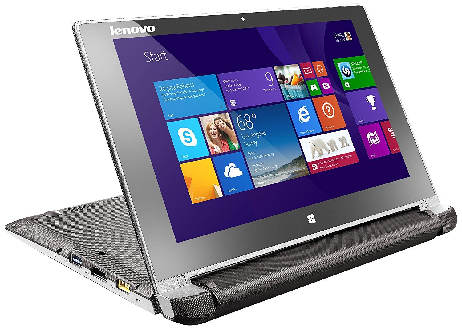 Lenovo Flex 10 Touchscreen Laptop With Microsoft Office Home Student Computers Accessories