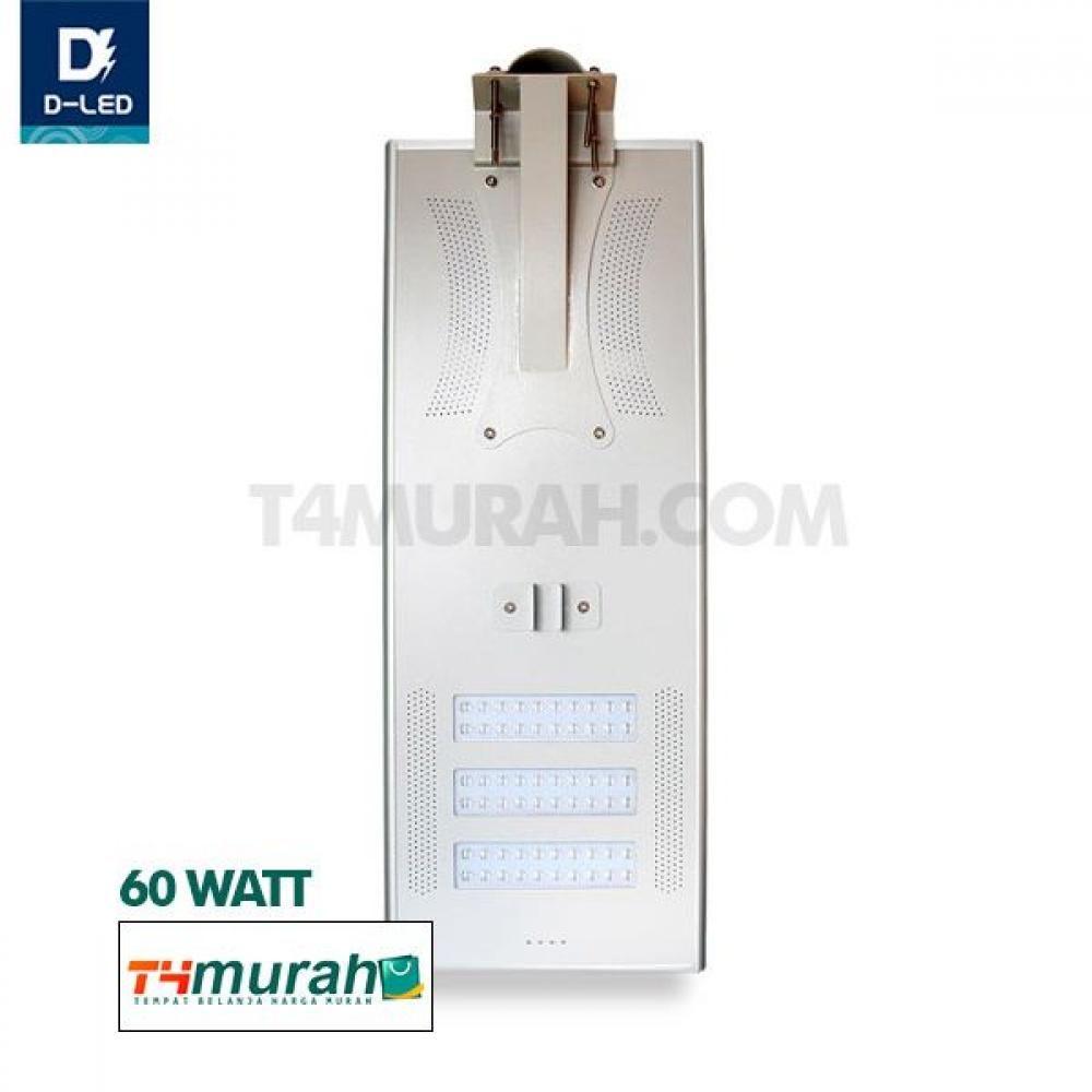 Lampu Led Pju Solar Panel 60w Lampu Led Led Lampu