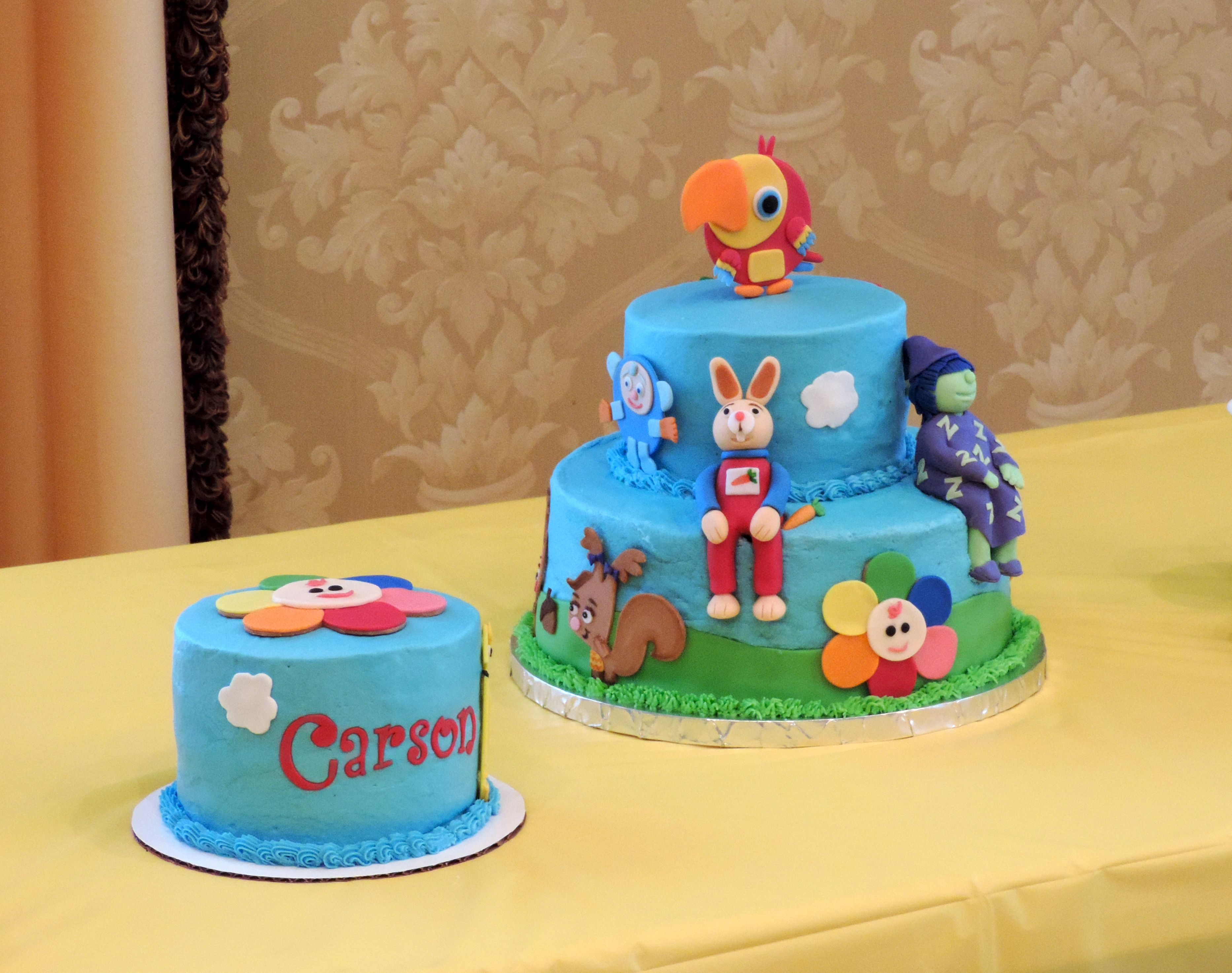 Miraculous Baby First Birthday Cake I Made For My Grandson With Images Personalised Birthday Cards Cominlily Jamesorg