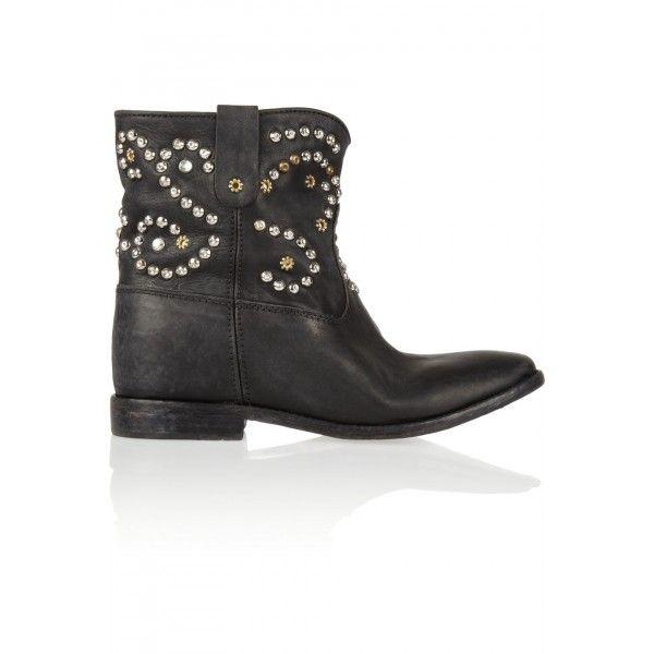 studded heel cowboy boots - Black Isabel Marant rkD18lUstP