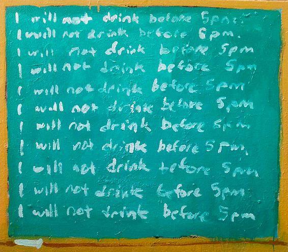 Todd Bienvenu, I Will Not Drink Before 5, 2014