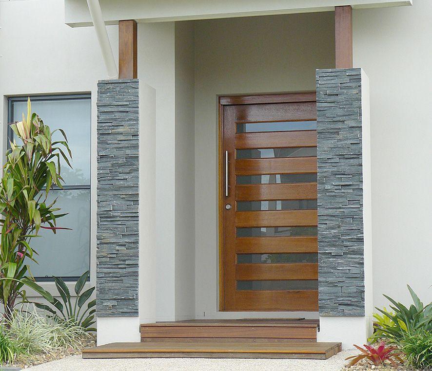 Dise os de casas modernas dise os de casas modernas for Puertas pequenas exterior