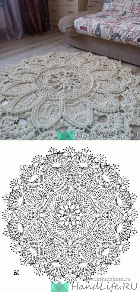 вязание крючком   Carpetas   Pinterest   Ganchillo, Tejido y Mandalas