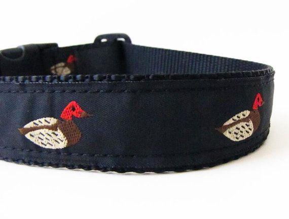 Hunting dog collar Huntin' Ducks - Medium